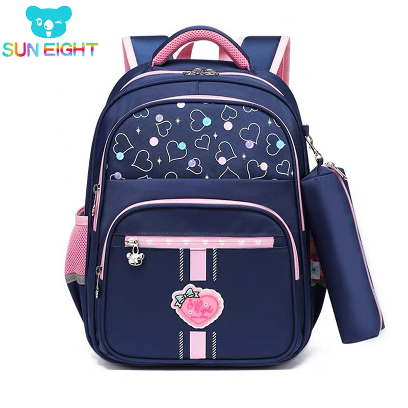 SUN EIGHT Class 1 School Backpack For Girl/boy Children Backpacks Primary School Kids Bag