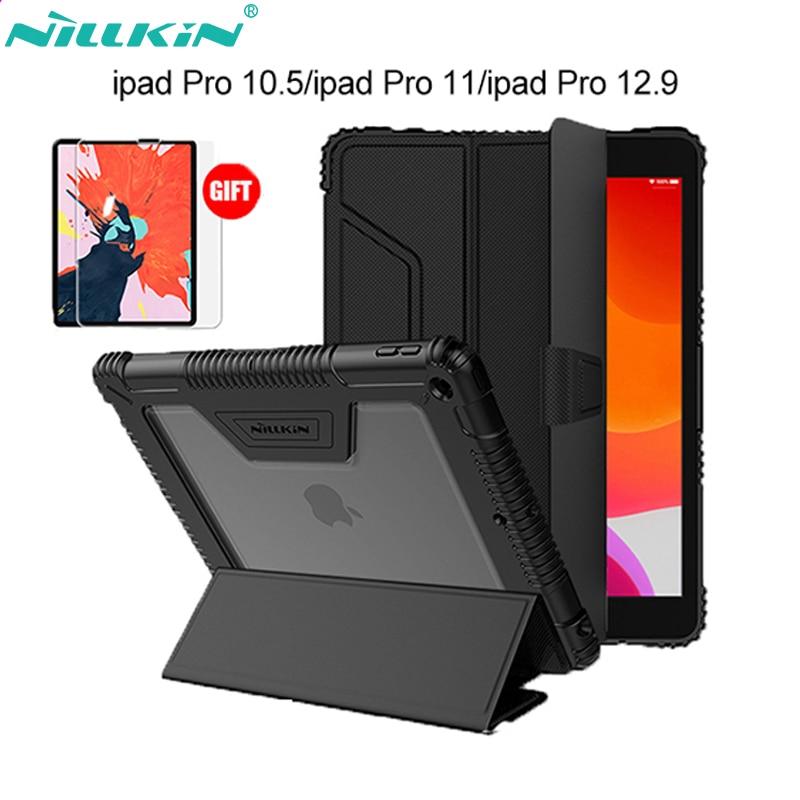 Original Nillkin PU Leather Smart Cover Case Stand For IPad Air 2019/Pro 10.5 2017/Mini 2019/Mini 4/9.7/Pro 11/Pro 12.9 (2018)
