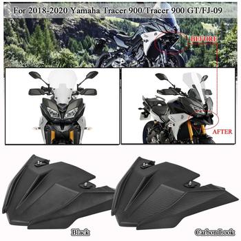 Front Fender Beak Nose Cone Guard Extension Cover For 2018 2019 2020 Yamaha MT09 Tracer 900 GT MT FJ 09 FJ09 Motorcycle Parts