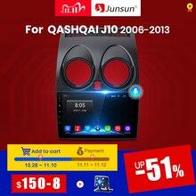 Reprodutor de vídeo gps da rádio do carro do dsp do andróide 10.0 2gb + 32gb dsp de junsun para nissan qashqai 1 j10 2006 2013 2 din dvd