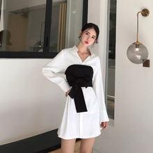 Lux angner 2020 осеннее Новое Женское дизайнерское платье рубашка