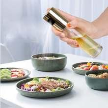 Диспенсер для распыления масла стеклянная бутылка оливкового