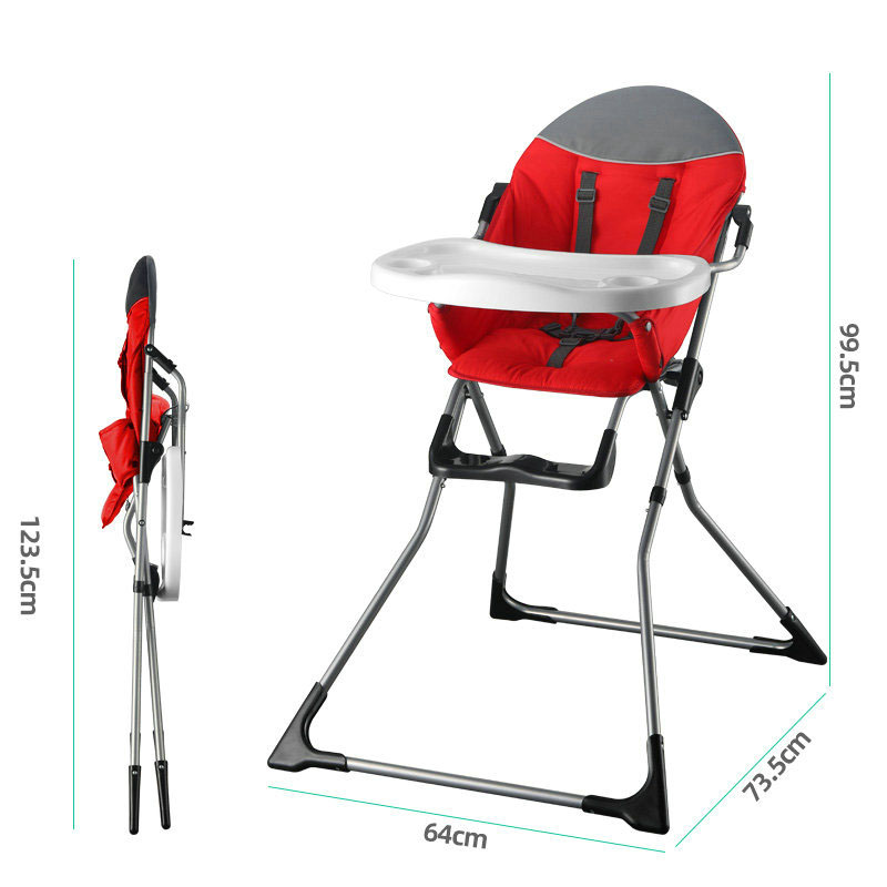 Russian Free Shipping Highchairs Baby Chair For Feeding Children's Multifunctional Folding Dining Chair