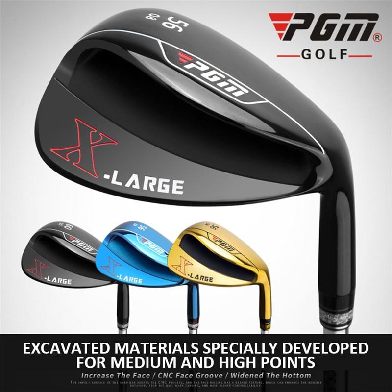 La tige de sable des hommes de Clubs de Golf de PGM a élargi l'inclinaison de fond de cale 56/60 degrés équipement de Golf de Putter de Golf de Club de Golf quatre couleurs