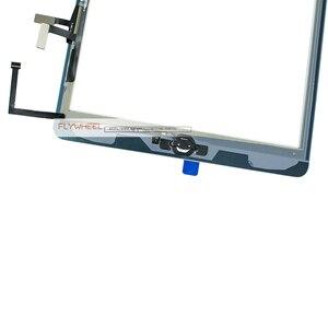 1 шт. Протестировано хорошо для iPad 5 Air 1 A1474 A1475 A1476 дигитайзер сенсорный экран передняя линза с набором инструментов + клей