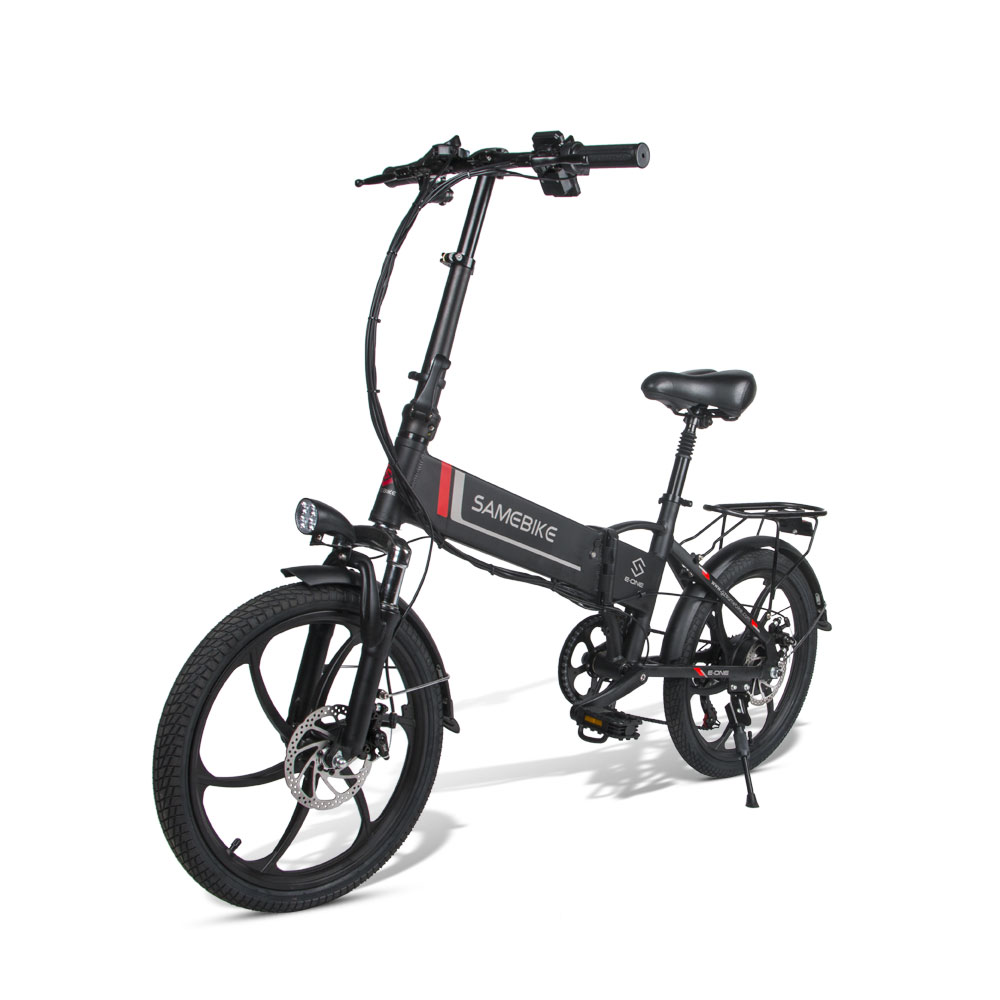 Samebike Smart Folding Electric Moped Bike 20LVXD30 E-bike 20 Inch Tire Speed Electric Bicycle