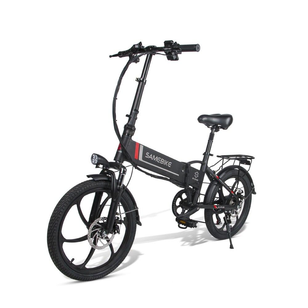 Samebike inteligentny składany rower elektryczny motorower 20LVXD30 e-bike 20 Cal prędkość opon rower elektryczny