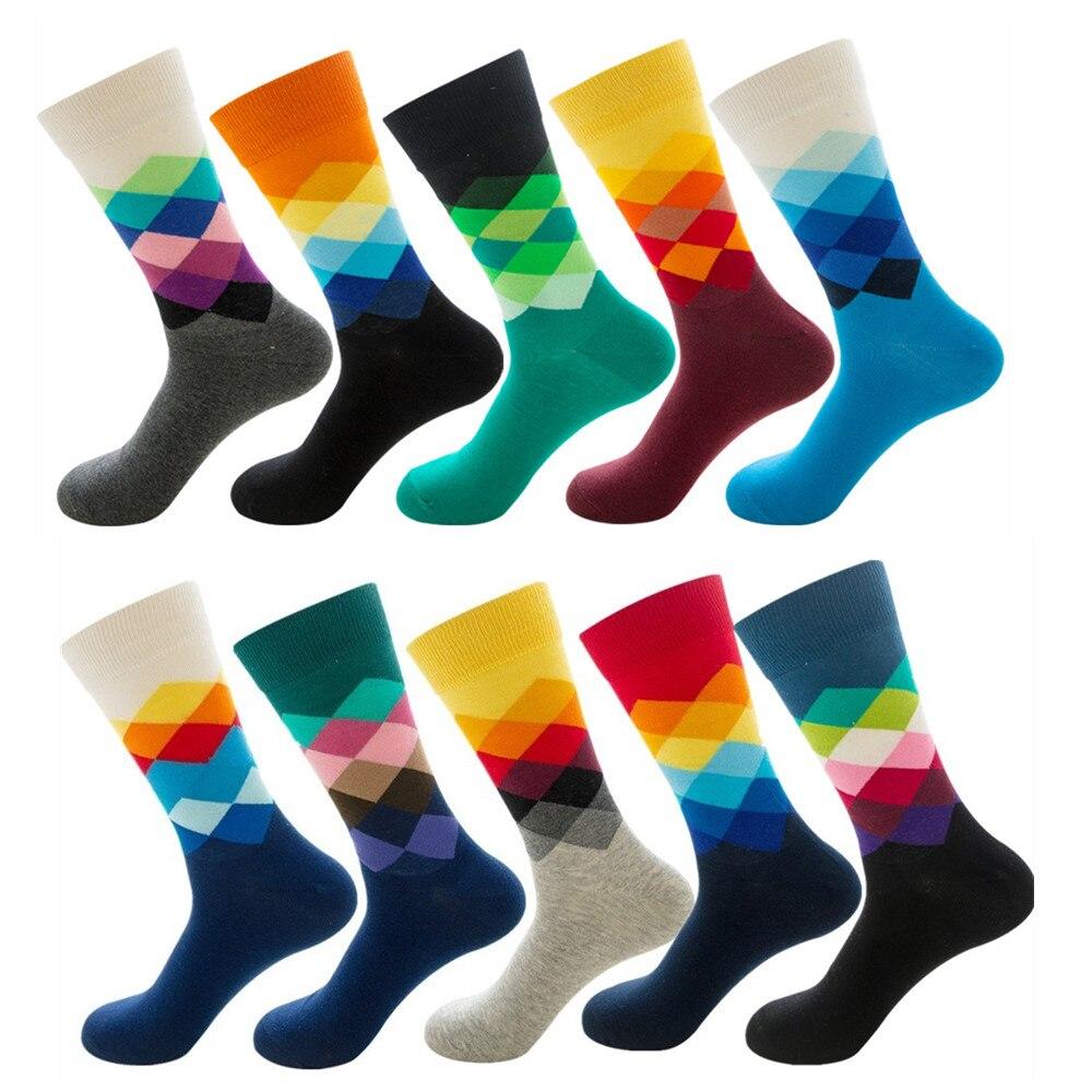 DOIAESKV, хлопковые счастливые мужские носки, женские, британский стиль, повседневные, Harajuku, дизайнерские, брендовые, модные, новинка