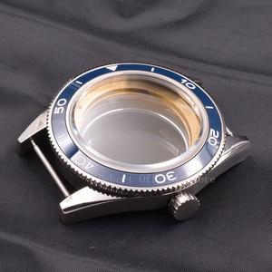 Image 5 - 時計ケース 41 40mm セラミックベゼル mens316 ss ダイヤル手フィット御代田 8205/8215 、 eta 2836 、 DG2813/3804 機械式腕時計防水