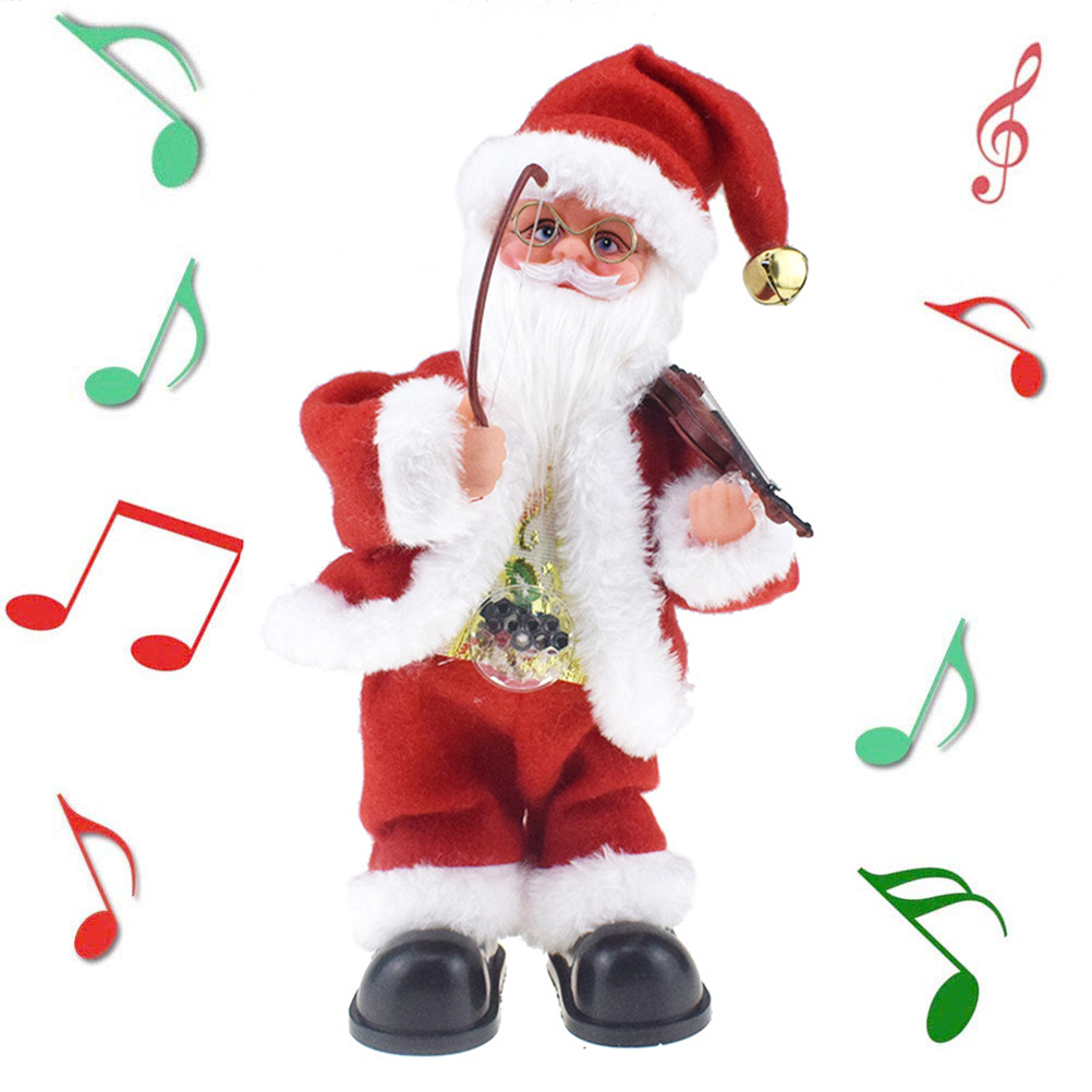 Creative Toys Santa Claus Dancing With A Gift Bag Electronic Toy Can Talking Singing A Suprise Fancy Christmas Kids Gift #40