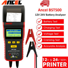 Analyzer Ancel Bst500 Built-In-Printer Battery-Tester-Tool Automotive 24v Truck 2000