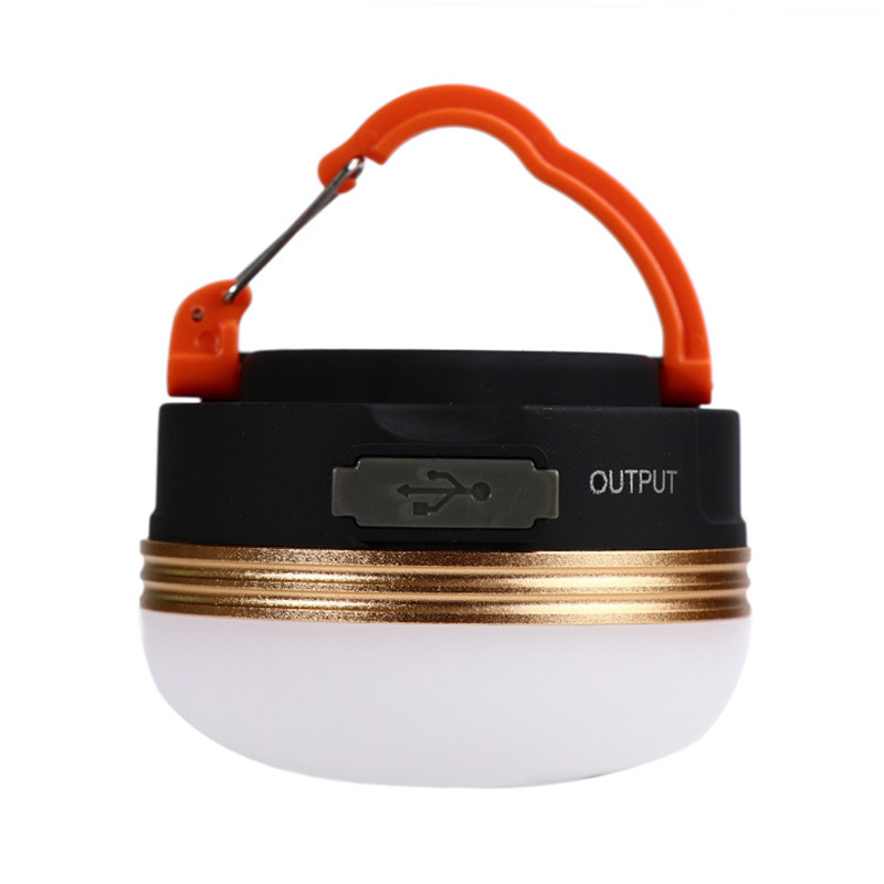 Battery or USB charging led portable lantern LED camping tent light with magnet hanging or magnetic led working emergency lamp