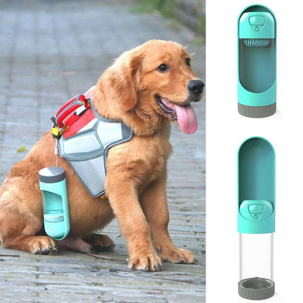 300ml Portable Dog Water Bottle BPA Free Travel Puppy Cat Drinking Outdoor Pet Water Dispenser Feeder For Dogs Cats