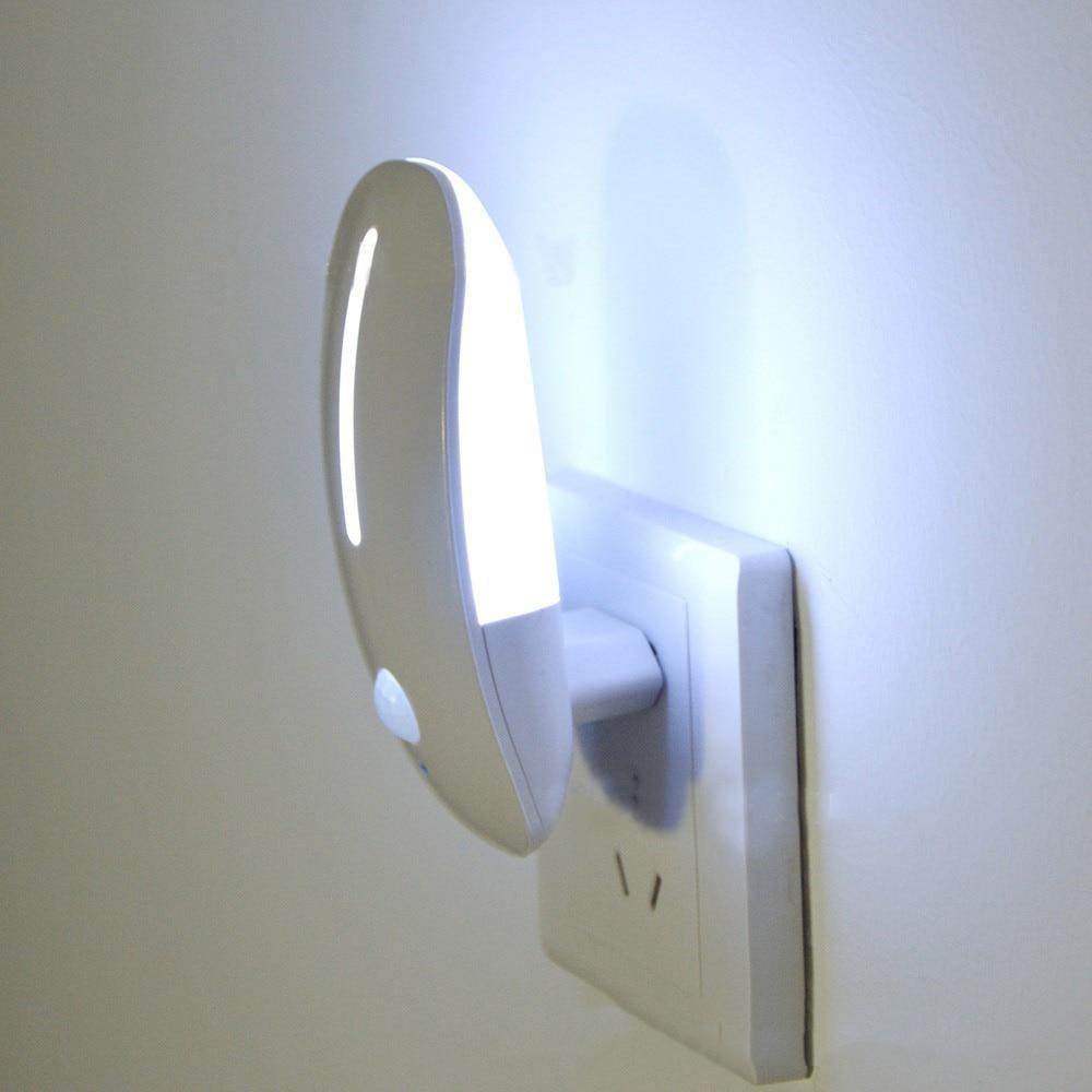 Светодиодный ночник для умного дома, энергосберегающий светильник с датчиком движения, пассивным инфракрасным датчиком движения, Автомати...