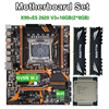 Kllisre X99 D4 płyta główna zestaw z Xeon E5 2620 V3 LGA2011-3 CPU 2 sztuk X 8GB = 16GB 2666MHz DDR4 pamięci