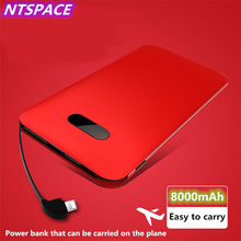 8000mAh LCD Digital Display Battery Charger For Huawei/Xiaomi Portable Power Bank For iPhone/Samsung External Battery Charger