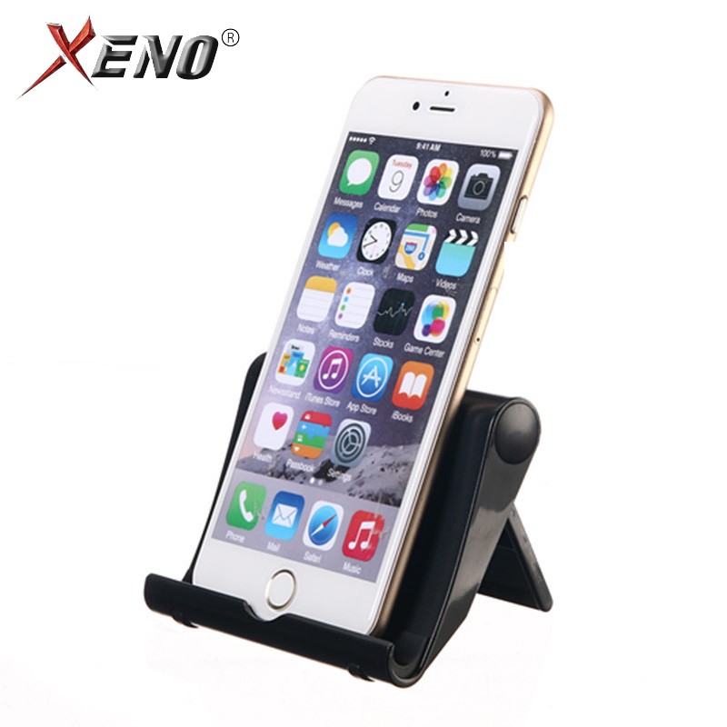 Mobile Phone Holder Desk Stand For IPhone 7 8 X Phone Stand Tablet Stand Tripod For Mobile Phone Plastic Foldable Holder Stand