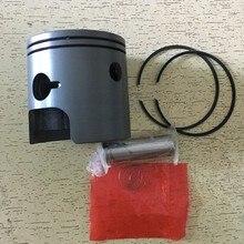 For Suzuki TS125 125cc TS 125 Motorbike STD Bore Size 56mm Pin 14mm Motorcycle Engine Parts Piston Ring Kit
