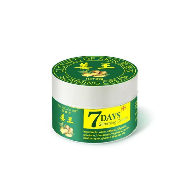 30g Ginger Weight Loss Fat Burning Anti-cellulite Full Body Slimming Cream Gel Professional Weight Lose Cream Women Body Cream