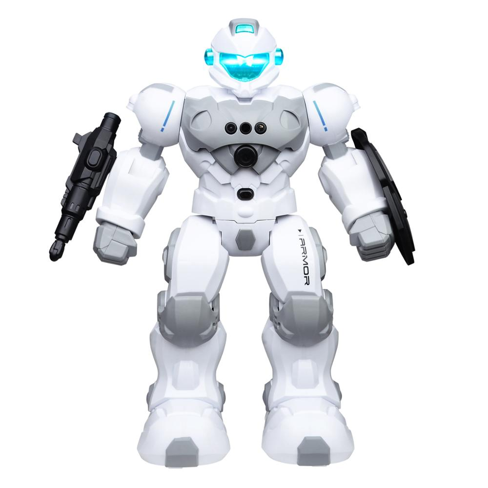 SUBOTECH RC Robot Intelligent Programmable 2.4GHz Remote Control Robot Toy For Kids Gesture Sensing Robot Kit Educational Toys