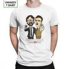 Camisetas De La Casa De Papel para hombre, ropa De manga corta con cuello redondo, camisetas De tela De algodón, divertida
