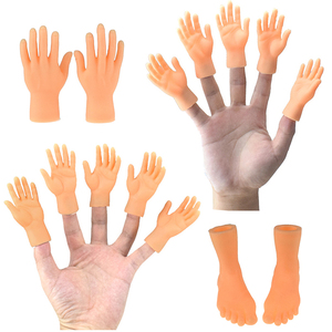 Cartoon Funny Finger Hands And Finger Feet Set Creative Finger Toys Of Toys Around The Small Hand Model Halloween Gift Toys