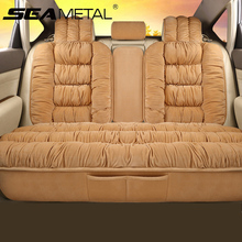 Plush Car Seat Cover Universal Seat Covers Protector Automobiles Seat Cushion Warm Carpet Mat Winter Seat cover Car Styling