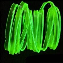 1 шт. 3 м салона светодиодный окружающей среды провод освещения веревки трубки полосы света художественное оформление гибкий яркий свет сиг...
