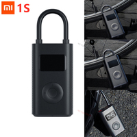 Xiaomi Mijia-bomba de inflado eléctrica para neumáticos, dispositivo inteligente y portátil con detección Digital de presión para bicicletas, motocicletas, coches y balones de fútbol, 1S