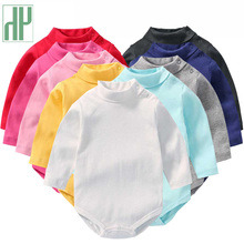 Newborn Baby Girl Clothing Rompers Tiny Cottons Tops Long Sleeve Romper Outfits Clothes Jumpsuit Ruffled Baby Costume Kids ruffled flower baby rompers summer newborn baby costumes kids jumpsuit toddler baby girl romper ropa bebe clothes polo outfits
