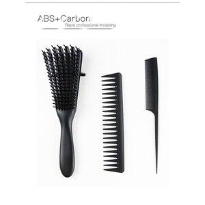 Комплект из 3 предметов, расческа для волос, Антистатическая расческа для ухода за волосами, Стайлинг, расческа, инструменты для укладки вол...
