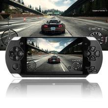 Портативная игровая консоль 4,3 дюймов 8G простой в эксплуатации экран MP3 MP4 MP5 плеер Поддержка psp игры, камеры, видео, электронной книги
