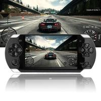 Handheld Game Console 4.3 inch 8G Easy Operation screen MP3 MP4 MP5 player support for psp game,camera,video,e book