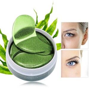 Image 5 - 60 stücke Auge Maske Gel Algen Kollagen Eye Patches Unter Dem Auge Taschen Augenringe Entfernung Feuchtigkeitsspendende Augen Pads Masken hautpflege