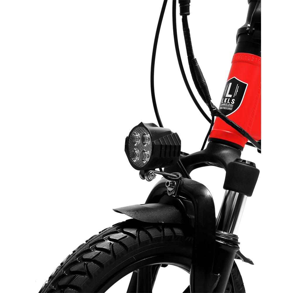 Cyrusher Mini sammenklappelig elektrisk cykel 400W 36V 8,7AH - Cykling - Foto 4