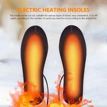 Новинка 2020 стельки с подогревом от usb теплые для обуви коврик