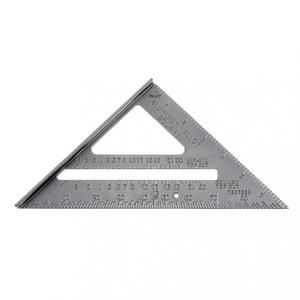 Image 2 - 7 Inch Aluminium Alloy Metal Right Angle Triangle Ruler with 0.1 Accuracy and 1 Scale Value for Industrial Measuring Tool
