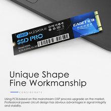 EAGET S300L SSD M.2(NGFF) 128GB 256GB 512GB 1TB katı hal sürücü yüksek hızlı kompakt sessiz darbeye dayanıklı SSD PC Laptop için