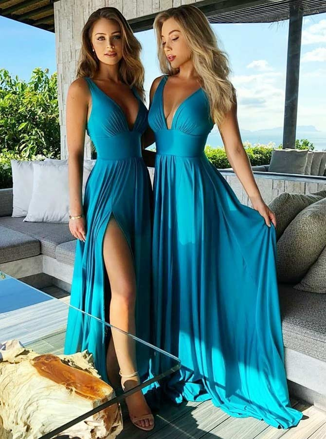 2019 Sexy Long Plus Size   Bridesmaid     Dresses   Vestido Dama De Honor Boda Wedding Guest   Dress   Formal Party   Dress   Vestido Madrinha