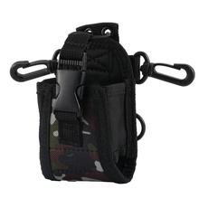Nylon Multi-functional Case Holster Pouch for Baofeng TYT for Wouxun Kenwood for Motorola Icom Walkie Talkie(China)