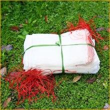100pcs Nylon mesh bag seed bag seed soaking bag dragon fruit bag grape fruit bagging fruit tree insect control bird net bag
