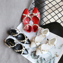 Sandals Baby Fashion Girls shoes 2020 Summer Sandals Rivets