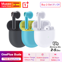 OnePlus Buds Wireless Bluetooth Earphones 30 Hours Battery Life Environmental Noise Cancellation Earphone Fast Charge