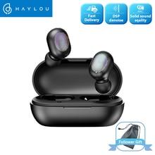 Haylou Gt1 TWS หูฟังไร้สายบลูทูธลายนิ้วมือ Touch HD สเตอริโอลดเสียงรบกวนชุดหูฟัง