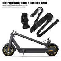 Mano llevar cinturón correas de gancho de mango portátil correas para Xiaomi Mijia M365 PRO 2 Scooter Eléctrico de Skateboard