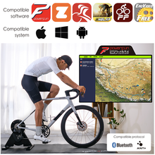 ThinkRider A1 Bike Trainer Built-in Power-Meter MTB Road Indoor Cycling Direct Platform For PowerFun Zwift Preset 3% Slope Race