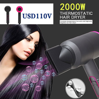 Blow Drier Hair Dryer Dry Hair Durable 2000W 110V for Electric Appliance Blower Hot Cold Wind Dormitory Student