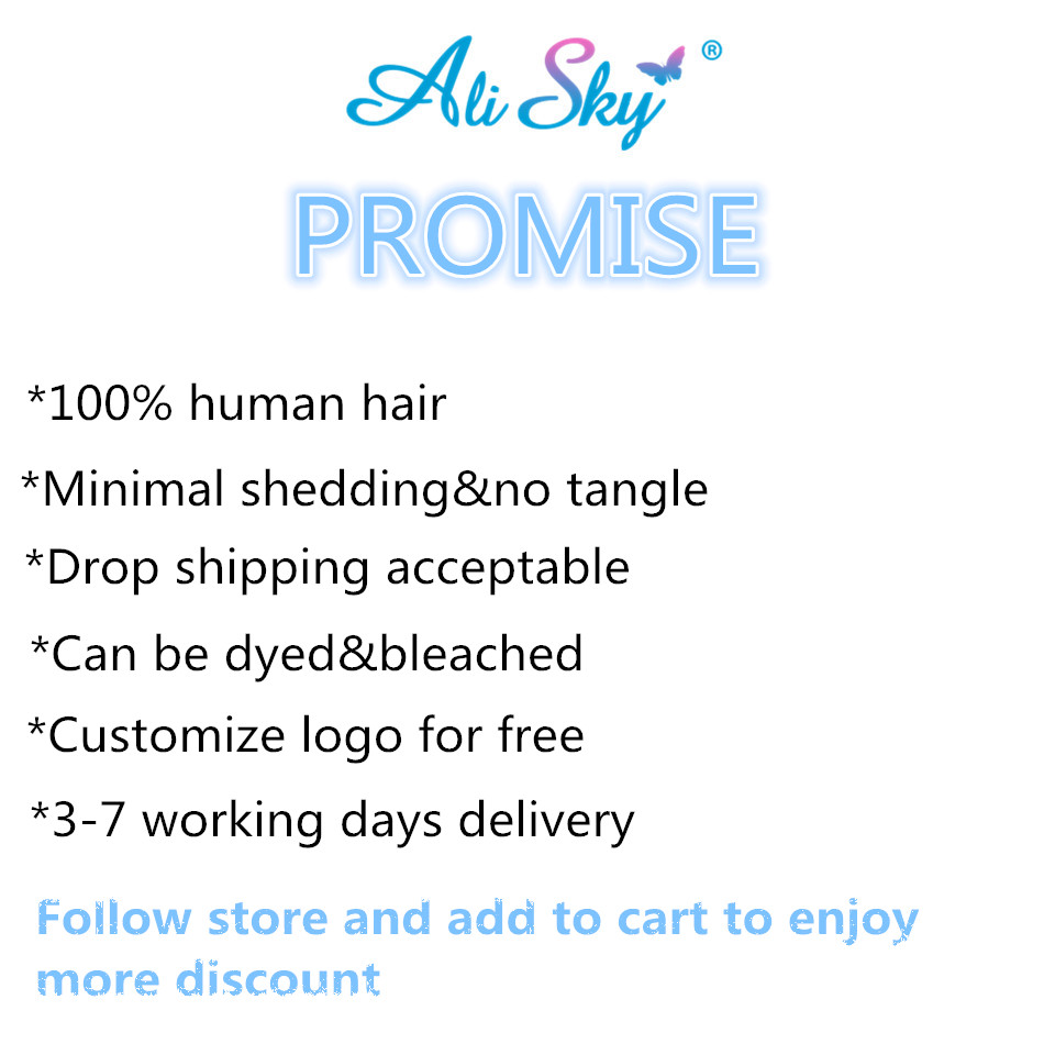 Alisky Brazilian Loose Wave Human Hair Lace Frontal 13X4 Pre Plucked Free Part With Baby Hair Natural Color Remy Hair Extensions