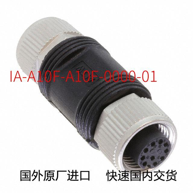 Original new IA A10F A10F 0000 01 Connector M12 A CODE I  ADAPTOR 10P F CONN (Futures  consultation before ordering)|Instrument Parts & Accessories| |  - title=