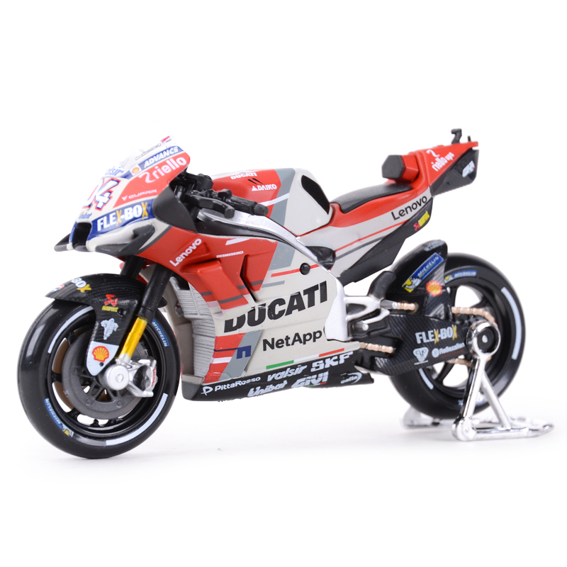 Maisto 1:18 2018 GP Racing Desmosedici RR Factory Racing Team 04# Diecast Alloy Motorcycle Model Toy